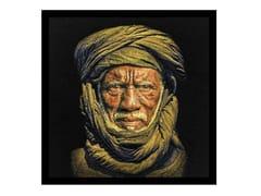 Quadro in poliestereTUAREG MAN, BLACK | Quadro - MONDIART INTERNATIONAL