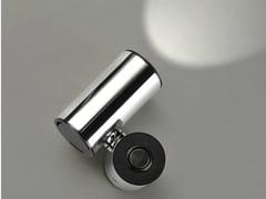 Faretto a LED da parete orientabile in acciaio inox TUB LED 6510 - Tub Led