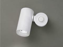 Faretto a LED da parete orientabile in acciaio inox TUB LED 6511 - Tub Led