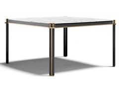 Tavolo quadrato in marmo e legnoTUDOR Q | Tavolo in marmo - CAPITAL COLLECTION IS A BRAND OF ATMOSPHERA