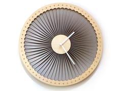 Orologio in compensato da pareteTURBINE - ARDEOLA