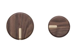 Gancio a parete da parete in legno masselloTWEENS - TONIN CASA