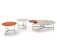 Tavolino basso da caffè in marmo in stile moderno da salottoTWIBE | Tavolino - I 4 MARIANI