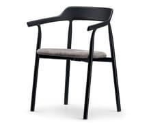 Sedia in plastica con braccioli e cuscino integratoTWIG COMFORT / 10E | Sedia con cuscino integrato - ALIAS