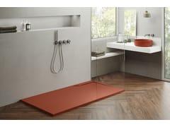 Piatto doccia rettangolare in materiale compositoTWINS | Piatto doccia - ABSARA INDUSTRIAL