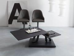 Tavolino basso in legno TWIST | Tavolino in legno -