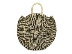 Borsa in seagrass TWISTED ROUNDI - BAZAR BIZAR