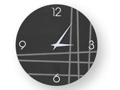 Orologio da parete in legno intarsiato TWO COLD | Orologio - DOLCEVITA LINES