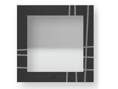 Specchio quadrato da parete con cornice TWO COLD | Specchio - DOLCEVITA LINES