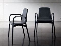 TWO TONE | Chair with armrests