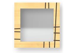 Specchio quadrato da parete con cornice TWO WARM | Specchio - DOLCEVITA LINES
