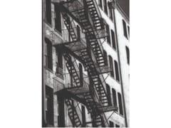 Stampa artistica in PET riciclatoTYPICAL NEW YORK FACADE FIRE - MONDIART INTERNATIONAL