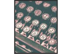 Stampa fotograficaTYPING MACHINE | Stampa fotografica - MONDIART INTERNATIONAL