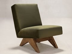 POLTRONCINA IN TESSUTOUPHOLSTERED ARMLESS CHAIR - PHANTOM HANDS VC