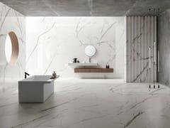 Pavimento/rivestimento in gres porcellanato effetto marmoULTRA MARMI - BIANCO STATUARIO - ARIOSTEA