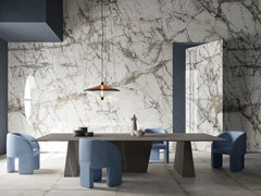 Pavimento/rivestimento in gres porcellanato effetto marmoULTRA MARMI - IMPERIAL GREY - ARIOSTEA