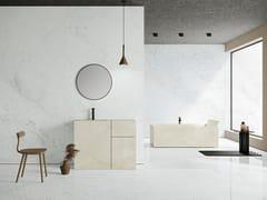 Pavimento/rivestimento in gres porcellanato effetto marmoULTRA MARMI - MICHELANGELO ALTISSIMO - ARIOSTEA