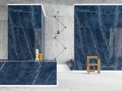 Pavimento/rivestimento in gres porcellanato effetto marmoULTRA MARMI - SOLIDATE BLU - ARIOSTEA