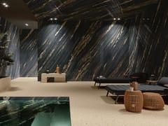 Pavimento/rivestimento in gres porcellanato effetto marmoULTRA MARMI - TROPICAL BLACK - ARIOSTEA