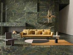 Pavimento/rivestimento in gres porcellanato effetto marmoULTRA MARMI - VERDE KARZAI - ARIOSTEA