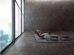 Pavimento/rivestimento in gres porcellanato effetto metallo ULTRA METAL - LAMIERA NERA SPAZZOLATA - ULTRA METAL