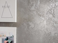 Pavimento/rivestimento in gres porcellanato effetto metallo ULTRA METAL - GREY ZINC - ULTRA METAL