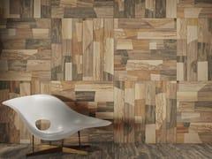 Pavimento/rivestimento in gres porcellanato a tutta massa effetto legnoULTRAMOD PATCHWORK - CERAMICHE KEOPE