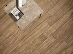 Pavimento/rivestimento in gres porcellanato a tutta massa effetto legnoULTRAMOD WALNUT - CERAMICHE KEOPE