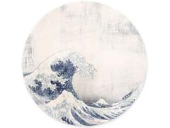 Decorazione adesiva a motivi in vinileUNDER THE WAVE - GROOVY MAGNETS