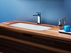 Lavabo da incasso sottopiano in ceramica GLAZE | Lavabo da incasso sottopiano - Glaze