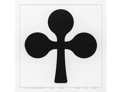 Serigrafia in cartaUNDICI, TRIFOGLIO - DANESE MILANO