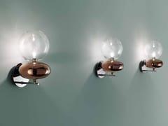 Lampada da parete a LED in vetro borosilicatoUNICA   Lampada da parete in vetro borosilicato - FISIONARTE