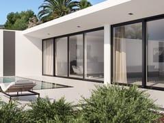 Porta-finestra alzante scorrevole in alluminio e legnoUNICA | Porta-finestra alzante scorrevole - BG LEGNO