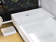 Portasapone in Corian® per vascaUNICO | Portasapone per vasca - REXA DESIGN