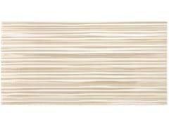 Rivestimento in ceramicaUNIQUE   Inserto righe Nocciola - ARMONIE CERAMICHE