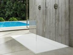 Piatto doccia rettangolare in Solid SurfaceUNIQUE - MOMA DESIGN BY ARCHIPLAST