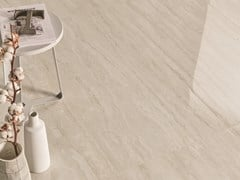 Pavimento/rivestimento effetto travertinoUNIQUE TRAVERTINE WHITE - PROVENZA BY EMILGROUP