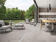 Pavimento/rivestimento in gres porcellanato effetto pietra per interni ed esterniUP_STONE CLOUD - ITALGRANITI