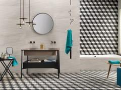Pavimento/rivestimento in gres porcellanato effetto pietraUP_STONE WHITE - ITALGRANITI