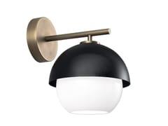 LAMPADA DA PARETE A LED IN OTTONE CON DIMMERURBAN | LAMPADA DA PARETE - VENICEM