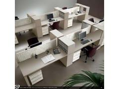 Postazione di lavoro multiplaUS | Postazione di lavoro - CASTELLANI.IT