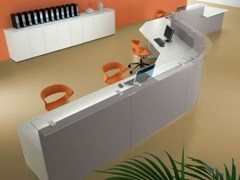 Banco reception per ufficio modulareUS | Banco reception per ufficio - CASTELLANI.IT