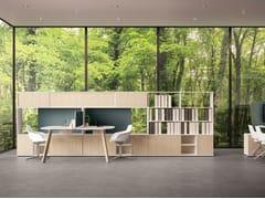 Mobile ufficio alto modulare in legno USE ME   Mobile ufficio alto -