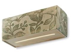 Applique rettangolare in ceramicaVAGUE | Applique in ceramica - FERROLUCE