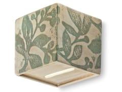 Applique quadrato in ceramicaVAGUE | Applique - FERROLUCE