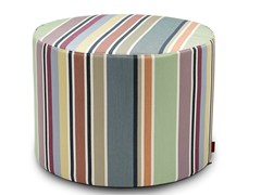 Pouf cilindro in tessuto waterproof VALDEMORO | Pouf - Vanessa Outdoor