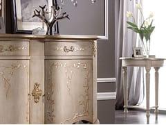 Tavolino rotondo in legno massello VALENCIA - Baroque
