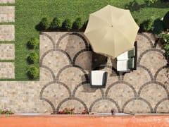 Pavimento per esterni in gres porcellanato effetto pietraVALERIA BEIGE - CERAMICA RONDINE