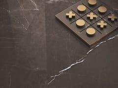 Pavimento/rivestimento in gres laminato effetto marmoVANITY PIETRA GREY - COTTO D'ESTE