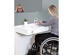 Lavabo per disabili ad altezza regolabileVANITY - ROPOX
